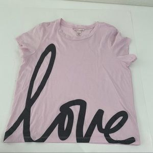 Victoria's Secret Graphic Shirt